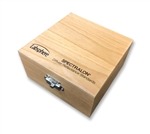 "WOODEN BOX FOR 2"" STANDARDS W/FOAM"